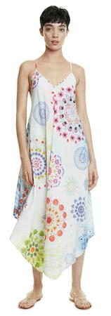 Desigual Manly 20SWMW12 női ruha, L, fehér