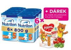 Nutrilon 5 detské mlieko 6x 800g