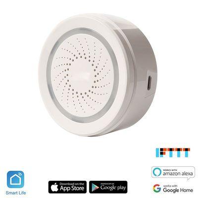 IQ-Tech SmartLife Chalupa, detektor pohybu, detektor otevření dveří, chytré zásuvky, detektor teploty a vlhkosti, alarm, senzory, chytrá sada