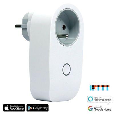 Chytrý senzor vody, zavírač ventilů a chytrá zásuvka IQ-Tech SmartLife Chalupa, automatizace, chytrá domácnost