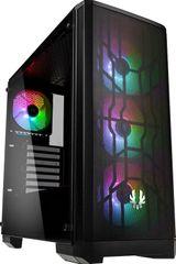 BitFenix Nova Mesh TG A-RGB, Tempered Glass, čierna
