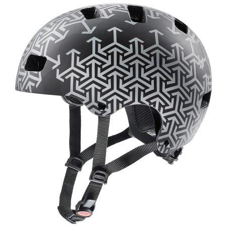 Uvex Kid 3 CC otroška kolesarska čelada, Black 55-58 cm