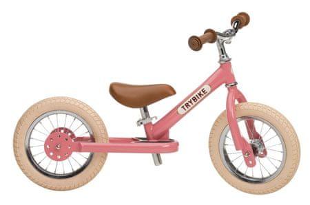 TryBike Pedál nélküli gyerekkerékpár rózsaszín