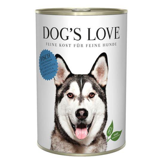 Dog's Love konzerva Adult Classic ryba 400 g