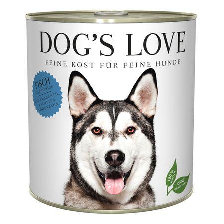 Dog's Love hrana za pse Adult Classic riba, 800 g