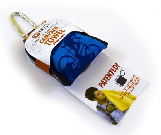 N-Rit Turistický uterák Premium - MIX barev - modrá