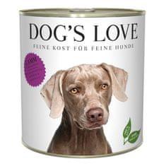 Dog's Love konzerva Adult Classic jehněčí 800 g