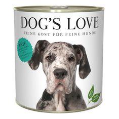 Dog's Love konzerva Adult Classic kachna 800 g