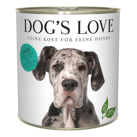 Dog's Love karma mokra dla psów Adult Classic kaczka 800 g