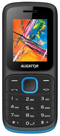 Aligator telefon D210, Black/blue