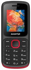 Aligator telefon D210, Black/red
