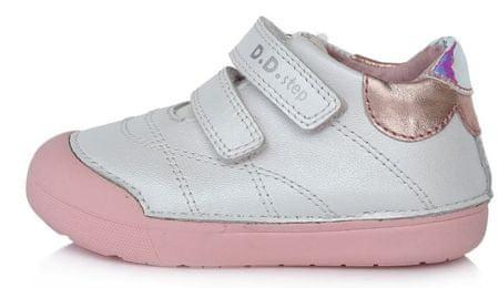 D D step Lány barefoot cipő 066 56B, 22, fehér