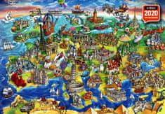 AnaTolian Puzzle Evropský svět 1500 dílků