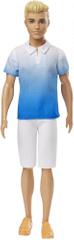 Mattel Barbie Model Ken 129 - Kék póló