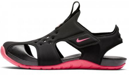 Nike sandały dziewczęce Sunray Protect 2 (PS) 943826-003 33,5 czarne