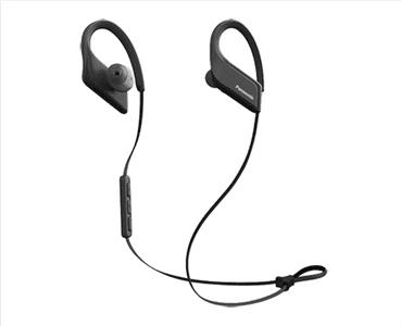 Bezdrôtové slúchadlá Panasonic RP-BTS35E ovládanie hlasitosti vodeodolné