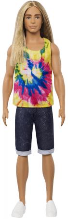 Mattel lalka Barbie Model Ken 138 - długie włosy