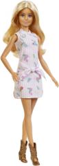 Mattel lalka Barbie Modelka 119 - różowa sukienka