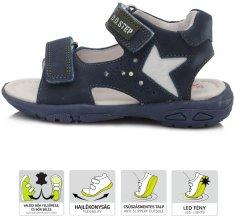 D-D-step chlapecké svítící sandály AC290-655