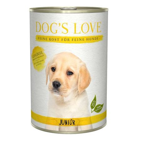 Dog's Love karma dla psów Junior Classic, 400 g