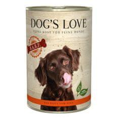 Dog's Love konzerva B.A.R.F. hovězí 400 g