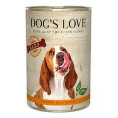 Dog's Love konzerva B.A.R.F. krocan 400 g