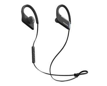 Bezdrátová sluchátka Panasonic RP-BTS55E ovládání hlasitosti voděodolná