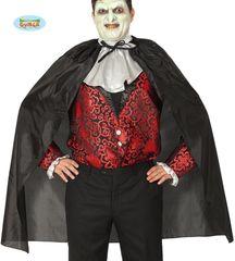 Kostým - plášť upíra - vampír- veľkosť univerzálna - unisex