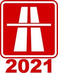 Elektronická dálniční známka 2021 (do 3,5 tuny)
