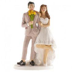Dekora Svatební figurka na dort šťastný pár