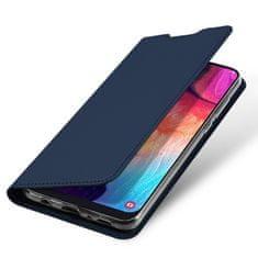 Dux Ducis Skin Pro knížkové kožené pouzdro na Samsung Galaxy A50 / A50s / A30s, modré