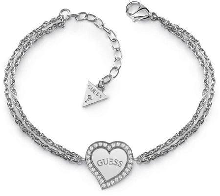 Guess Női karkötő szívvel UBB78096-S