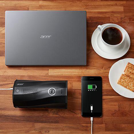 Projektor Acer B130i (MR.JR111.001) USB-C 9000 mAh