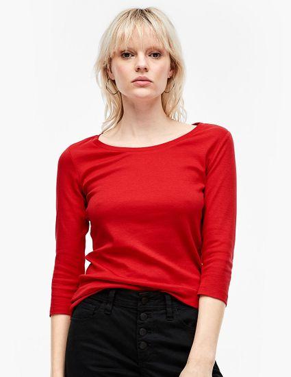 Q/S designed by dámske tričko 41.002.39.5502, XXL, červená