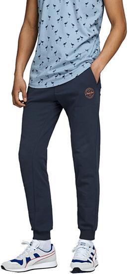 Jack&Jones Pánske tepláky JJIGORDON 12165322 Navy Blazer (Veľkosť L)