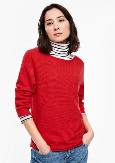 s.Oliver dámský pulovr 04.899.61.6017 40 červená