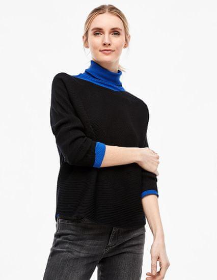 s.Oliver dámský pulovr 04.899.61.6017 42 černá