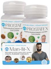 Novax Balíček pro muže (2x Prostatex 2x60 tobolek + blister Man-fit-X 20 tobolek)