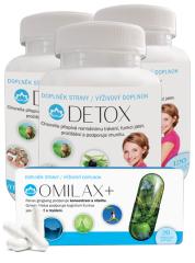 Novax 3x Detox + Omilax vzorek zdarma