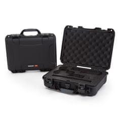 Nanuk Odolný kufr model 910 2UP Classic Pistol - černá