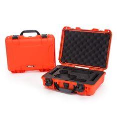 Nanuk Odolný kufr model 910 2UP Glock Pistol - oranžový