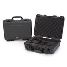 Nanuk Odolný kufr model 910 2UP Classic Pistol - šedý