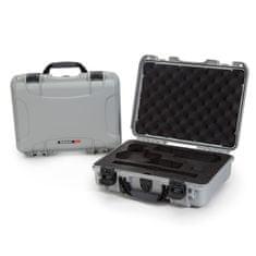 Nanuk Odolný kufr model 910 2UP Classic Pistol - stříbrný