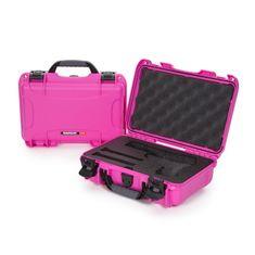 Nanuk Odolný kufr model 909 Classic Pistol - růžový