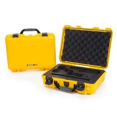 Nanuk Odolný kufr model 910 2UP Classic Pistol - žlutý