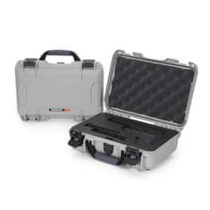 Nanuk Odolný kufr model 909 Glock Pistol - stříbrný