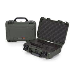 Nanuk Odolný kufr model 909 Glock Pistol - zelený