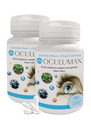 Novax 2x Oculumax- to nejlepší pro vaše oči s vysokou dávkou luteinu - čtyřměsíční balení 120 tobolek