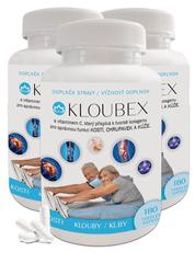 Novax Balíček na klouby (3x Kloubex 180 3x180 tobolek)