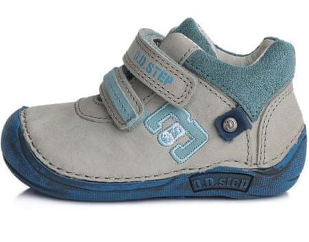 D-D-step cipele za dječake 018-43B, 19, sive